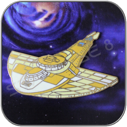 CARDASSIAN GALOR WARSHIP ANSTECKER / PIN