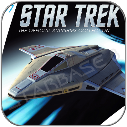 STARFLEET ACADEMY TRAINER (EAGLEMOSS STAR TREK STARSHIP COLLECTION 97)