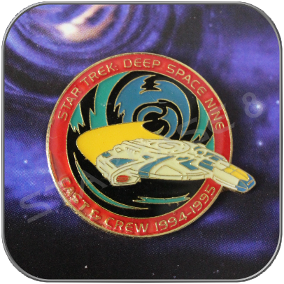 DEFIANT / DEEP SPACE NINE ANSTECKER / PIN