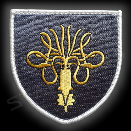 HOUSE of GREYJOY- EMBLEM PATCH