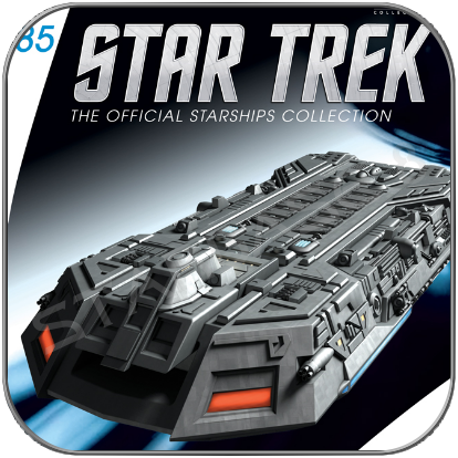 FEDERATION HOLOSHIP (EAGLEMOSS STAR TREK STARSHIP COLLECTION 85)