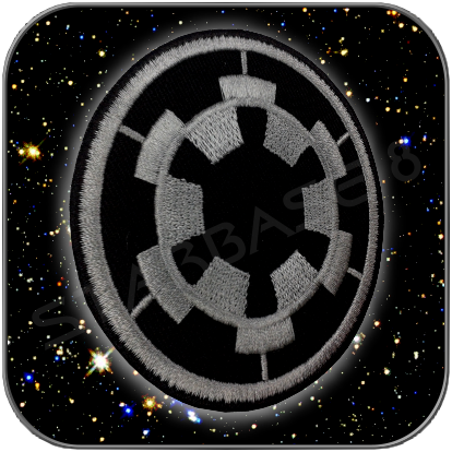 IMPERIAL LOGO UNIFORM AUFNÄHER PATCH - GALACTIC EMPIRE
