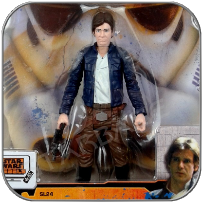 HAN SOLO - STAR WARS HASBRO ACTION FIGUR