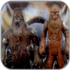WULLFFWARRO & WOOKIEE WARRIOR - STAR WARS HASBRO ACTION FIGUR