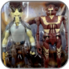 CIKATRO VIZAGO & IG-RM - STAR WARS HASBRO ACTION FIGUR SET