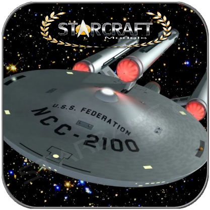 USS FEDERATION NCC-2100 - DREADNOUGHT (1/1400 Resin Kit)