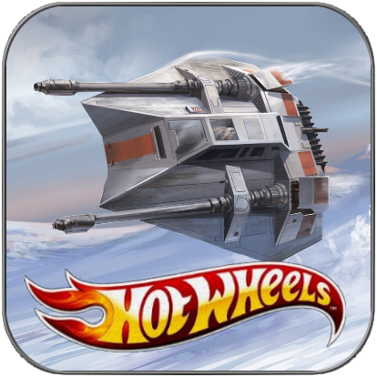 SNOWSPEEDER - STAR WARS HOT WHEELS METALL MODELL