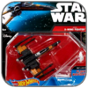 POE'S X-WING FIGHTER - STAR WARS HOT WHEELS METALL MODELL