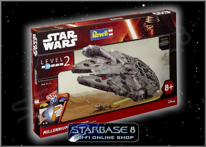 MILLENNIUM FALCON 1:72 - STAR WARS REVELL MODEL KIT ROGUE ONE