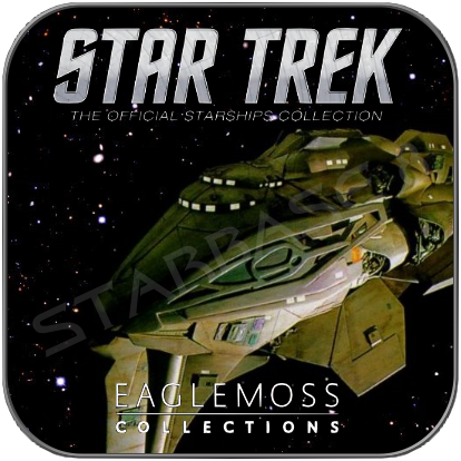 KAZON RAIDER (EAGLEMOSS STAR TREK MODELL OHNE MAGAZIN)