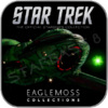 KLINGON BIRD OF PREY (EAGLEMOSS STAR TREK MODELL OHNE MAGAZIN)
