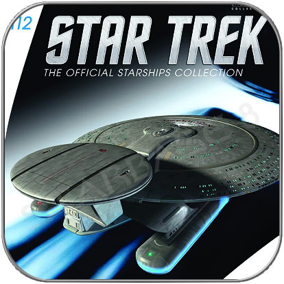 USS PHOENIX (EAGLEMOSS STAR TREK STARSHIP COLLECTION UK #112)