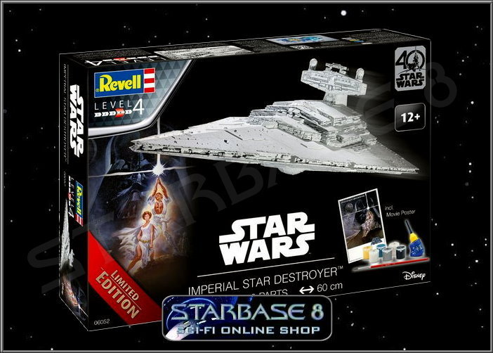 imperial stardestroyer revell limited edition star wars bausatz rogue one. Black Bedroom Furniture Sets. Home Design Ideas