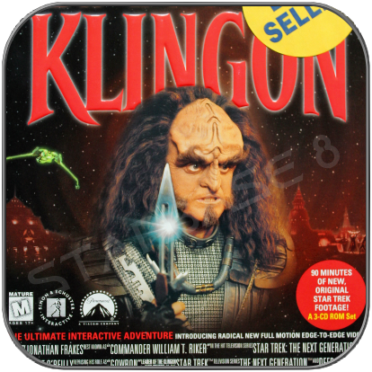 STAR TREK KLINGON PC GAME