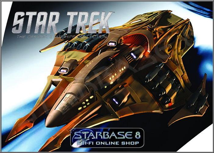 LOKIRRIM PATROL SHIP STAR TREK EAGLEMOSS 113 STARSHIPS