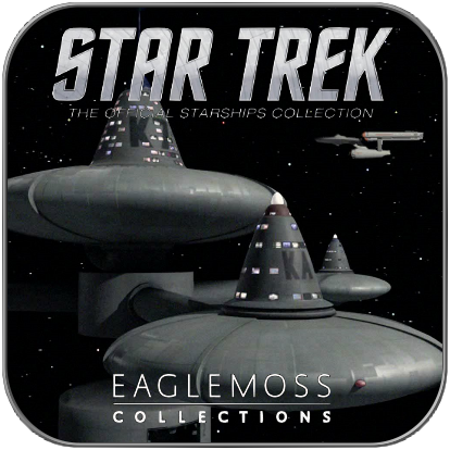 DEEP SPACE STATION K-7 (EAGLEMOSS STAR TREK MODELL OHNE MAGAZIN)