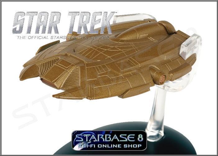 Star Trek Ferengi Starship Model with Magazine #117 by Eaglemoss