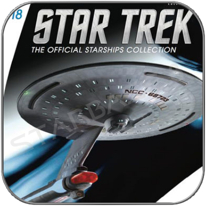 USS FIREBRAND - FREEDOM CLASS (EAGLEMOSS STAR TREK STARSHIP COLLECTION UK #118)