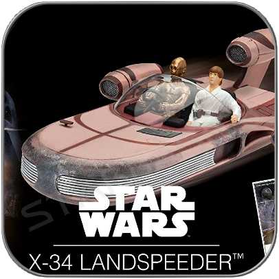 X34 LANDSPEEDER - STAR WARS REVELL MODEL KIT  LIMITED EDITION with packaging damage