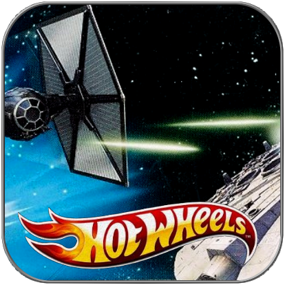 TIE FIGHTER vs MILLENNIUM FALCON - STAR WARS HOT WHEELS 2-PACK