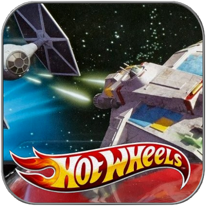 TIE FIGHTER vs GHOST - STAR WARS HOT WHEELS 2-PACK