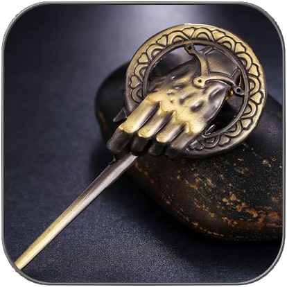 HAND DES KÖNIGS BROSCHE ANSTECKER PIN - GAME OF THRONES