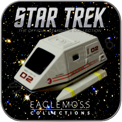 TYP 15 SHUTTLE (EAGLEMOSS STAR TREK STARSHIP COLLECTION)