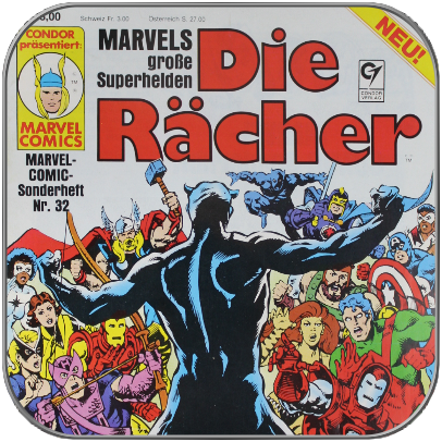 DIE RÄCHER - CONDOR MARVEL COMIC SONDERHEFT Nr. 32 (Deutsch)