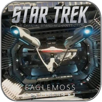 USS ENTERPRISE 1701 BEYOND (EAGLEMOSS STAR TREK MODELL OHNE MAGAZIN)