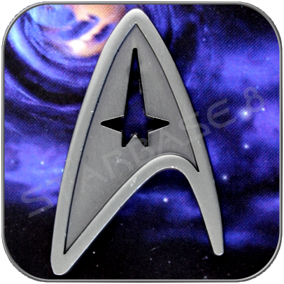 STARFLEET COMMAND - UNIFORM EMBLEM PIN
