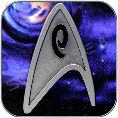 STARFLEET ENGINEERING - UNIFORM EMBLEM PIN
