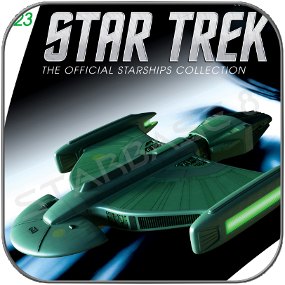 ROMULAN SCIENCE VESSEL (EAGLEMOSS STAR TREK STARSHIP COLLECTION UK #123)