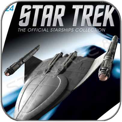 SS EMETT (EAGLEMOSS STAR TREK STARSHIP COLLECTION UK #124)