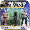 DRAX & KORATH - HASBRO ACTION FIGUREN SET - GUARDIANS OF THE GALAXY