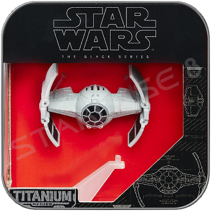 INQUISITOR'S TIE ADVANCE - STAR WARS HASBRO TITANIUM BLACK SERIES