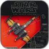POE'S X-WING STARFIGHTER - STAR WARS HASBRO TITANIUM BLACK SERIES
