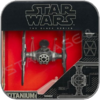 FIRST ORDER TIE FIGHTER - STAR WARS HASBRO TITANIUM BLACK SERIES