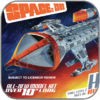 HAWK FIGHTER - MPC SPACE 1999 MODELL BAUSATZ
