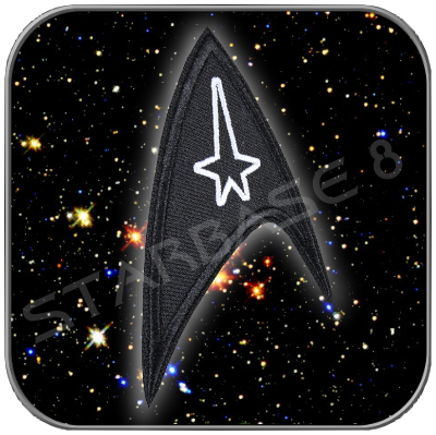 STARFLEET BLACK OPS UNIFORM PATCH