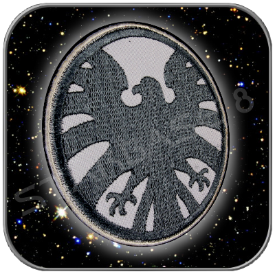 S.H.I.E.L.D. PRIMIUM CLASSIC PATCH WITH 'KLETT'