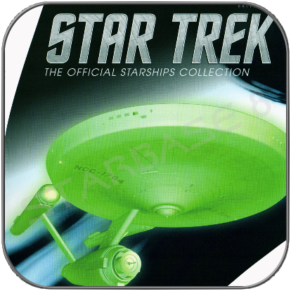 USS DEFIANT NCC 1764 INTERPHASE (EAGLEMOSS BONUS ISSUE)