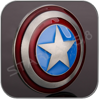 CAPTAIN AMERICA SHIELD GÜRTELSCHNALLE / BELT BUCKLE - MARVEL AVENGERS