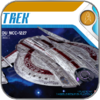 U.S.S. SHENZHOU (1/2500 POLAR LIGHTS STAR TREK MODELL BAUSATZ)