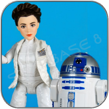LEIA und R2-D2 - FORCES OF DESTINY - STAR WARS HASBRO COLLECTOR FIGUR SET