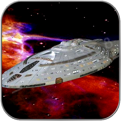 USS VOYAGER / INTREPID CLASS (1/1400 ALLIANCE Kunstharz Bausatz)