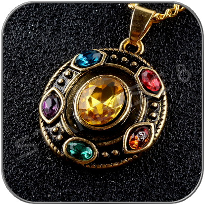 INFINITY STONES HALSKETTE / NECKLACE - MARVEL AVENGERS