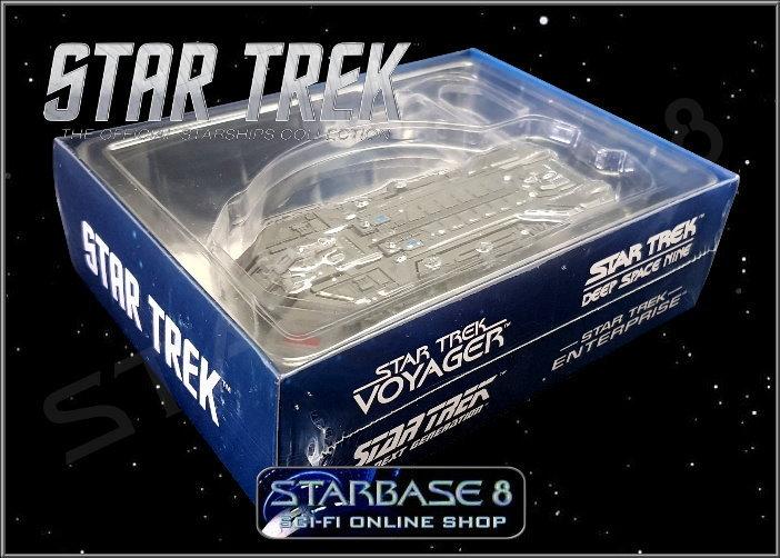 Star Trek Federation Holoship Model with Magazine #85 by Eaglemoss
