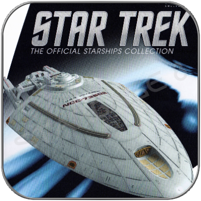 USS VOYAGER CONCEPT (EAGLEMOSS STAR TREK STARSHIP COLLECTION)