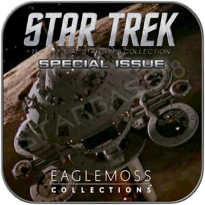 SPACESTATION REGULA ONE (EAGLEMOSS STAR TREK STARSHIP COLLECTION)