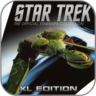 KLINGON BIRD OF PREY (EAGLEMOSS XL EDITION STAR TREK STARSHIP COLLECTION)